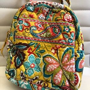Vera Bradley Lunch Bunch Bag Yellow